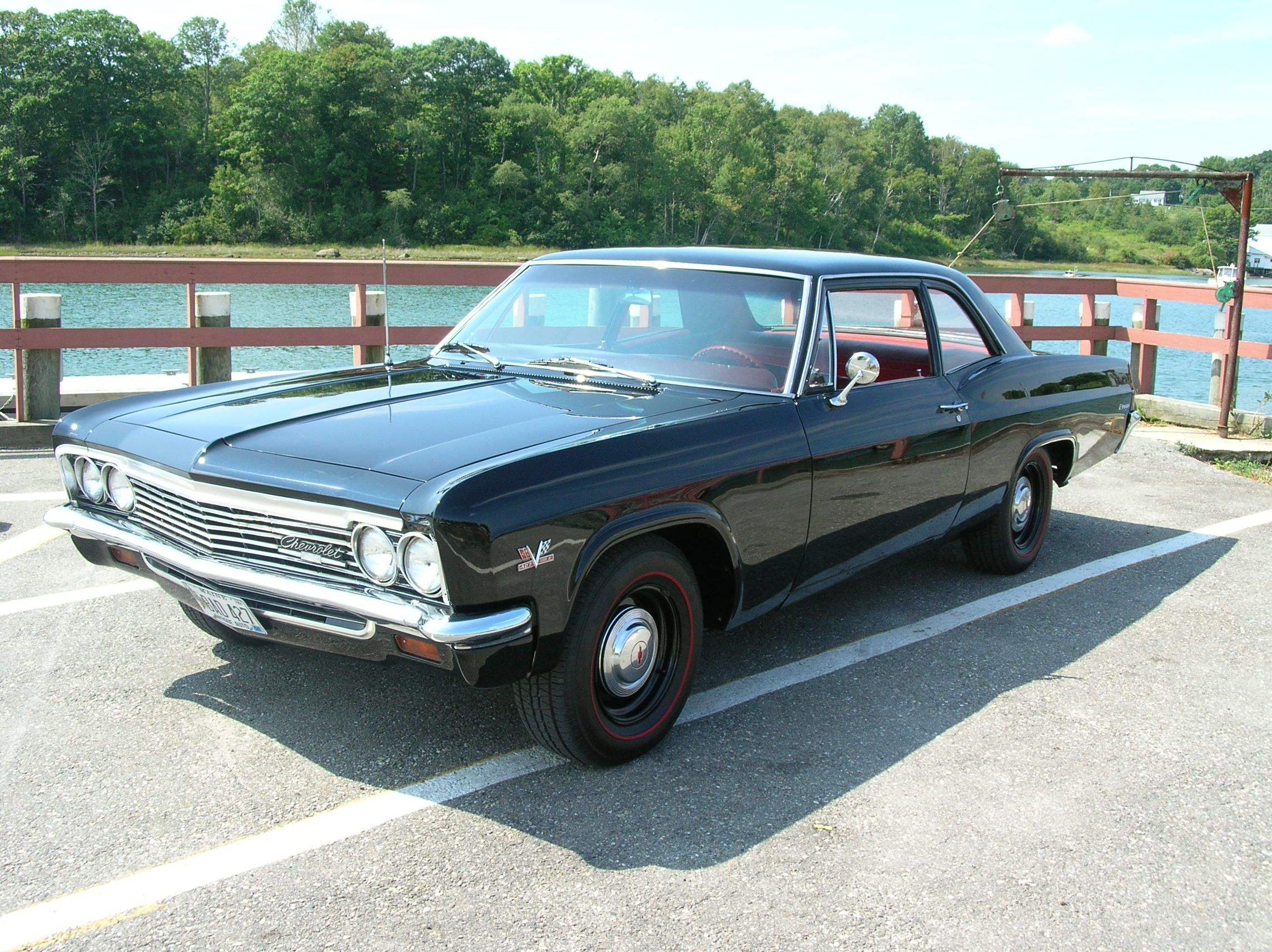 1966 chevy biscayne 427 425hp solid lifters m 22 hd 4