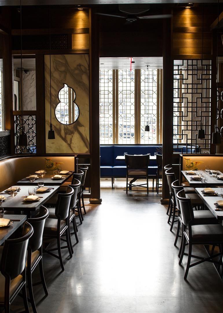 Gilles Boissier 2012 Hakkasan New York Restaurant Interior