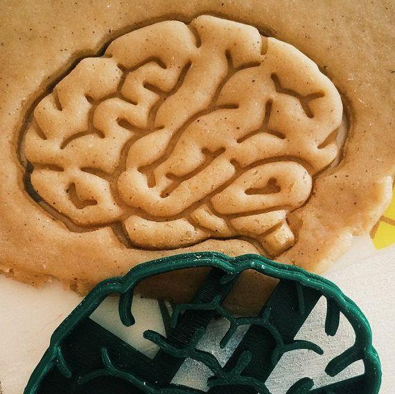 Set of organs Brain heart lungs Cookie Cutter by 3dventureru
