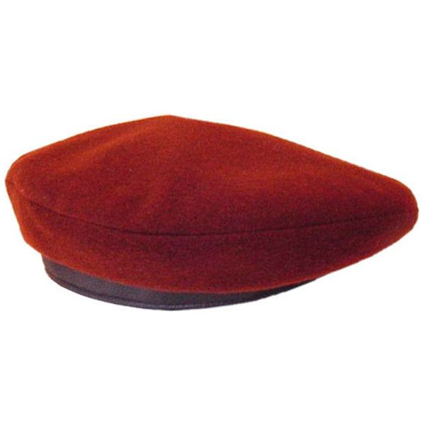 1ab09c99 Preowned Hermes Beret Cashmere Deer Leather New Wow So Rare ($1,575) ❤  liked on Polyvore featuring accessories, hats, accessories - hats,  headwear, ...