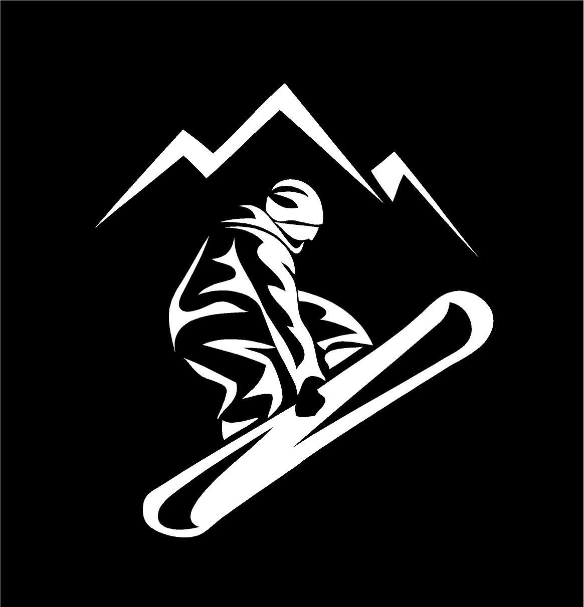 Excited To Share This Item From My Etsy Shop Snow Boarder Decal Snow Boarding Decal Snow Board Decal Snow Board Snowboard Stickers Snowboarding Custom Vinyl [ 1212 x 1165 Pixel ]
