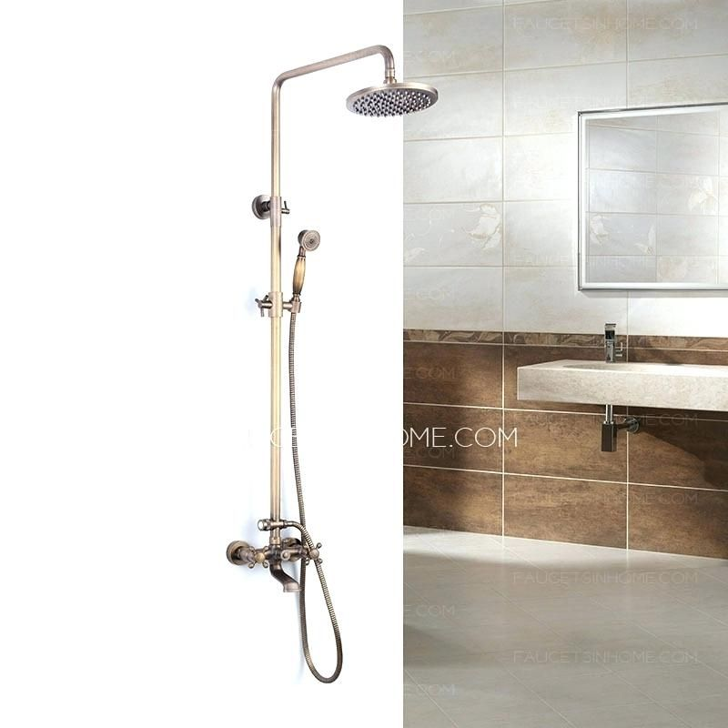 Showers: Copper Outdoor Shower Fixtures Copper Outdoor Shower ...