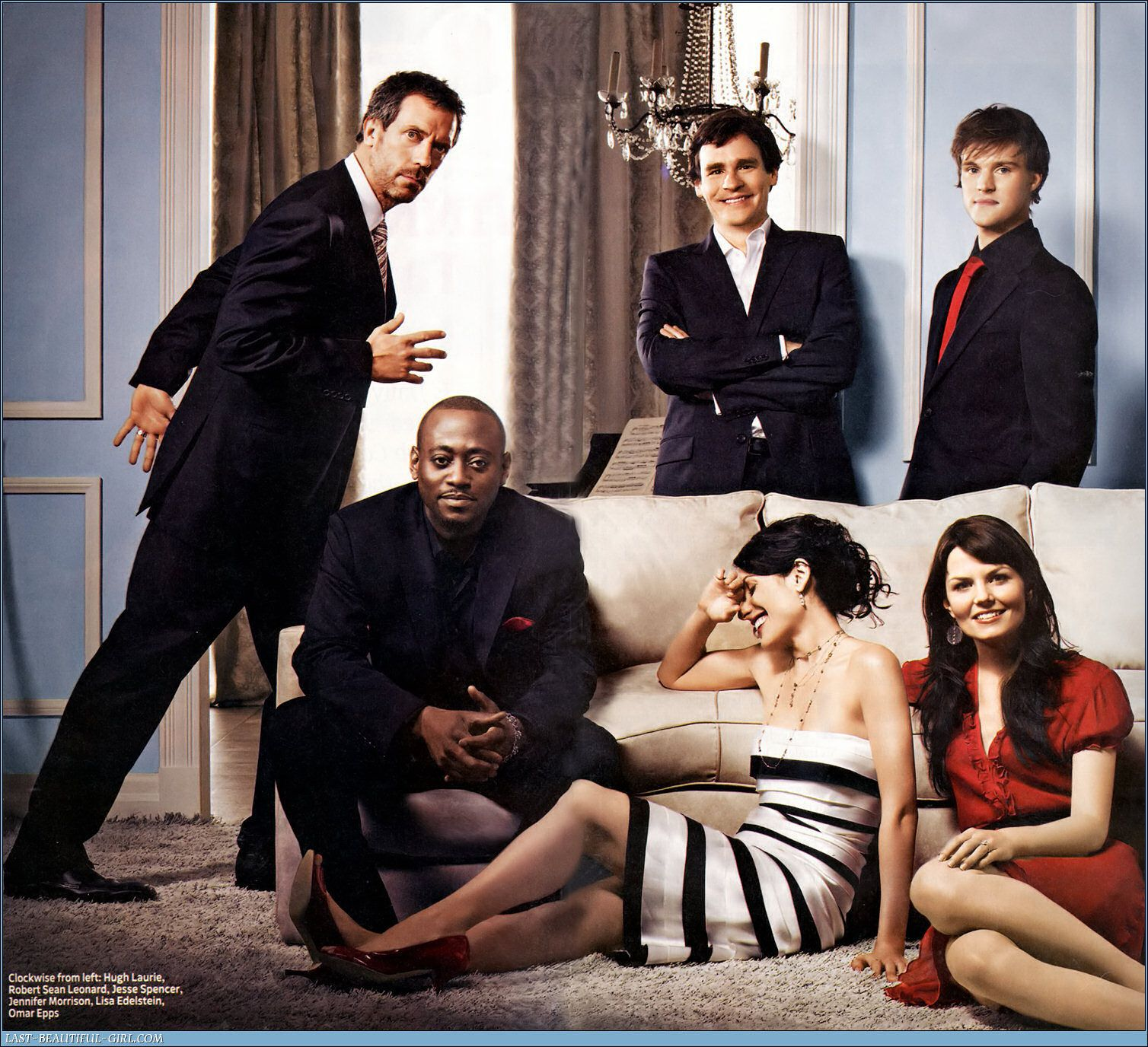 """The cast of """"House"""". TV Dr house"""