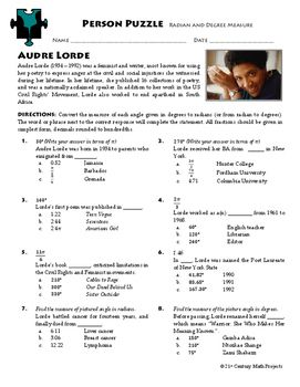 Arc Length Maze ~ Degrees &amp- Radians | Maze, Worksheets and Students