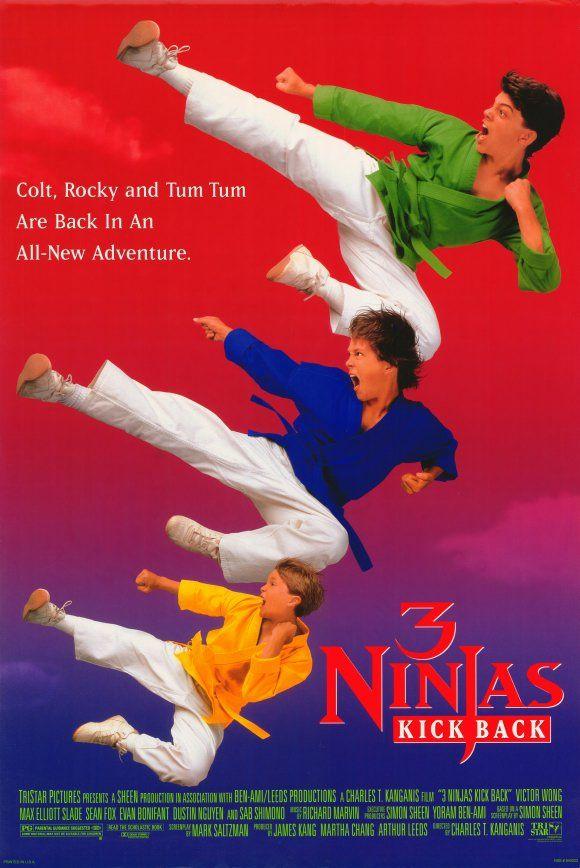 3 Ninjas Kick Back , starring Victor Wong, Max Elliott ...