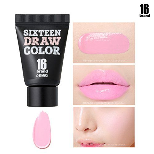16brand Sixteen Draw Color 8g Multi Use Makeup Lipstick Eye Shadow