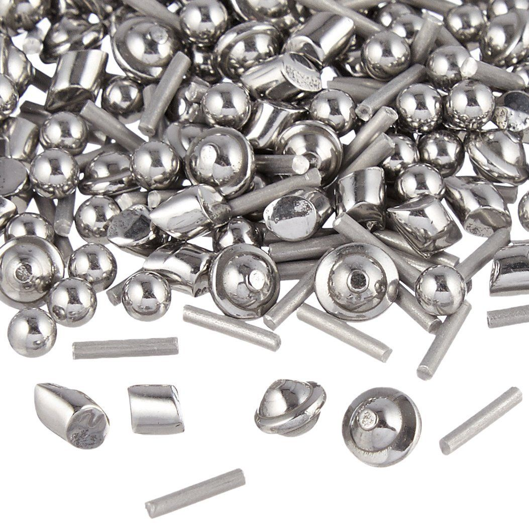 2 lb 18 stainless steel tumbling media shot jewelers mix