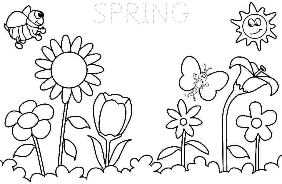 Fresh Spring Coloring Pages Ideas Summer Coloring Pages Spring Coloring Sheets Spring Coloring Pages