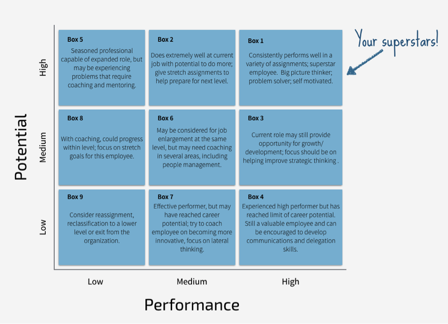 9grid.png (900×650) Performance reviews, Succession