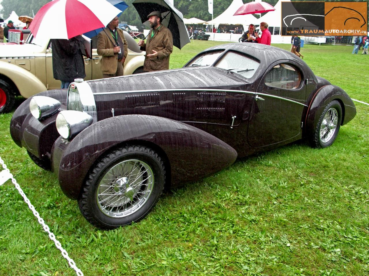 ... Fire City Car. Bugatti Typ 57 Gangloff Coupe U00271935