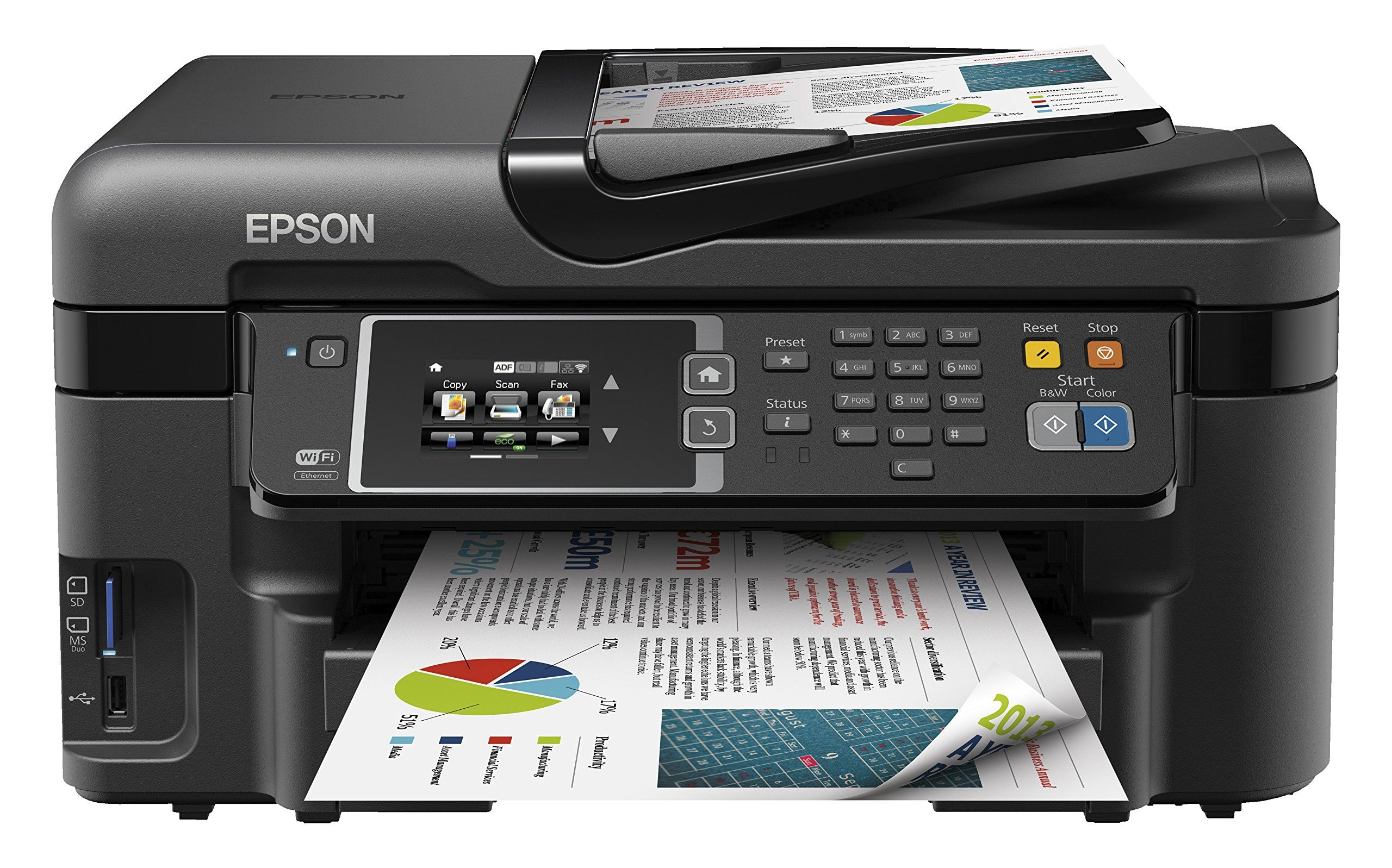 Epson Workforce Wf3620dwf A4 promo max 5pc