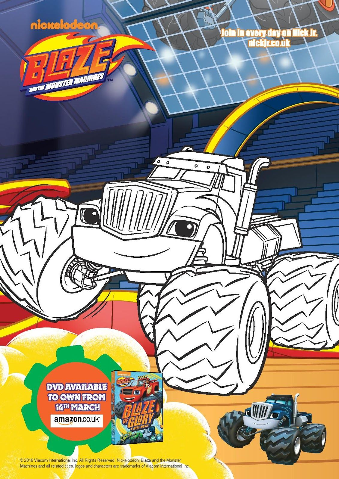 Blaze and the Monster Machines: Blaze of Glory | Osos y Dibujo