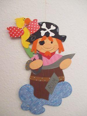 Fensterbild tonkarton fotokarton pirat herbert u haie herbst deko kinder fasnwt - Piraten deko basteln ...