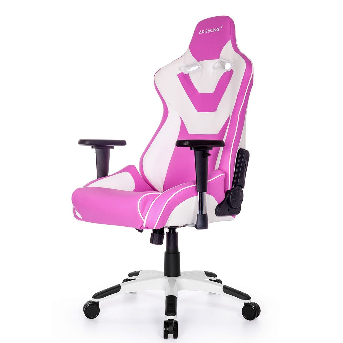 High Quality Gaming Chair AKRACING AK CP Pink And White   Versus Gamers Gallery