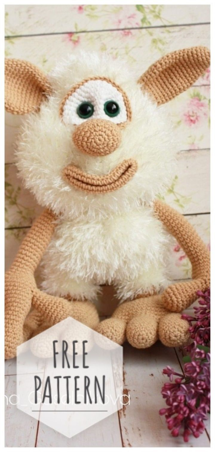Amigurumi Toy Free Pattern #crochettoys