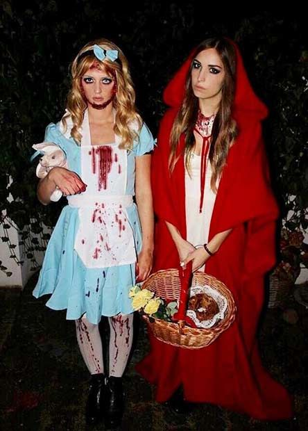 51 Halloween Costume Ideas For You And Your Bff Stayglam Costumes For Teenage Girl Easy College Halloween Costumes Halloween Costumes For Girls