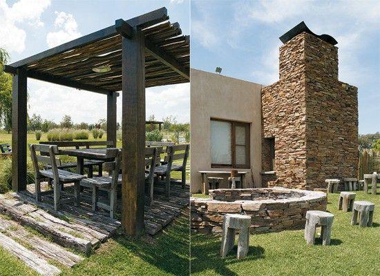 Decoracion una propuesta moderna con estilo campestre for Decoracion casa de campo moderna