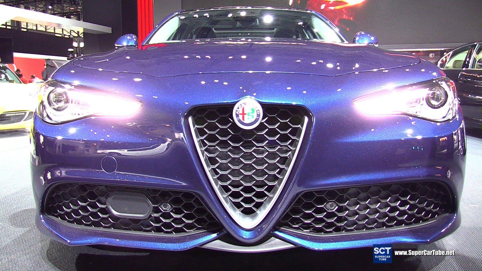 2017 Alfa Romeo Giulia Turbo Q4 Exterior And Interior Walkaround 2016 New York Auto Show Alfa Romeo Giulia Europe Car Turbo