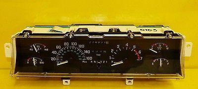 Buick Lesabre 1991 1992 1993 1994 Speedometer Instrument Cluster In Km H Oem Buick Lesabre Buick Lucerne Buick