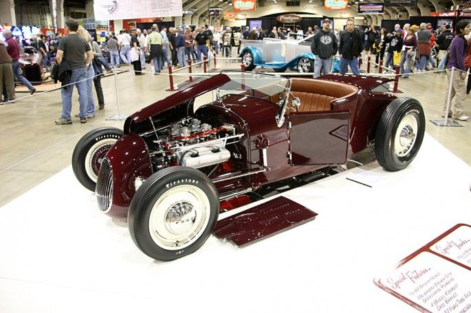 America S Most Beautiful Roadster 2013 Is John Mumford S 1927 Ford Track T Built By Roy Brizio Roadsters Hot Rods Cars Racing Car Model