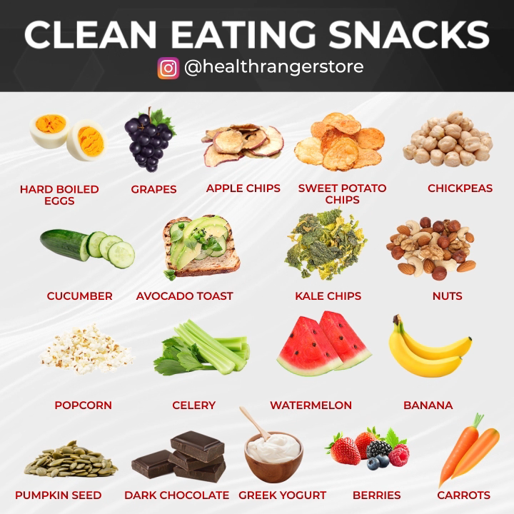 Discover a variety of snacks that you'll love. -   19 fitness Diet clean eating ideas