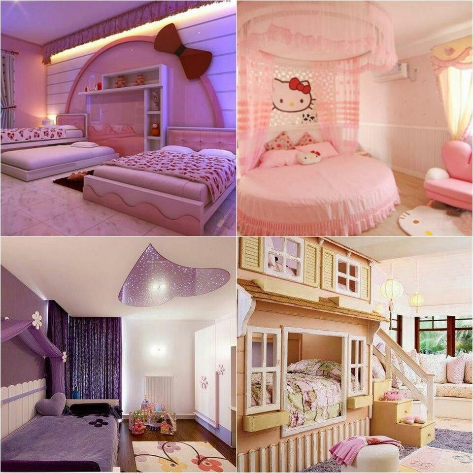Cute Rooms: Girly Bedrooms.. Too Cute.