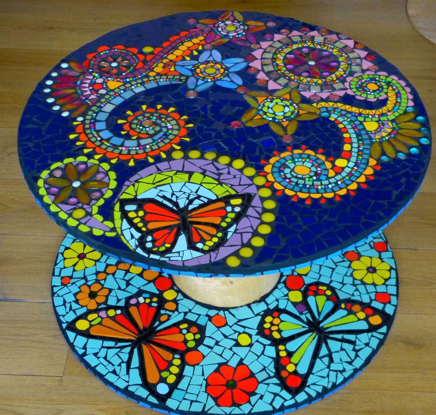 Table basse mosaïque \
