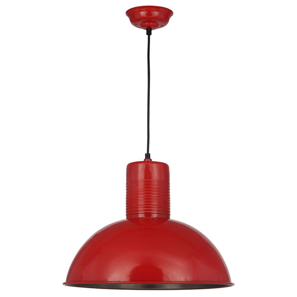 Red Metal Pendant | Lighting | Accessories
