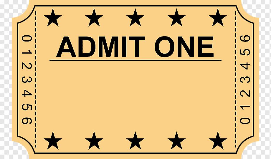 Wedding Invitation Ticket Cinema Film Blank Ticket Template Text Logo Png Ticket Wedding Invitations Blank Ticket Template Logo Design Free Templates