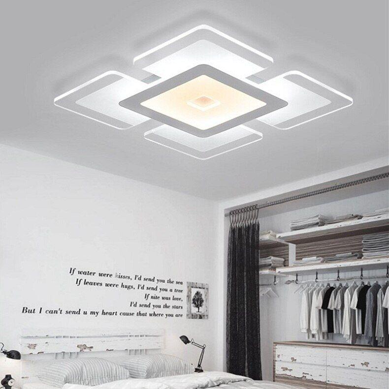 Modern LED Ceiling Light Rectangular and Square Living ...