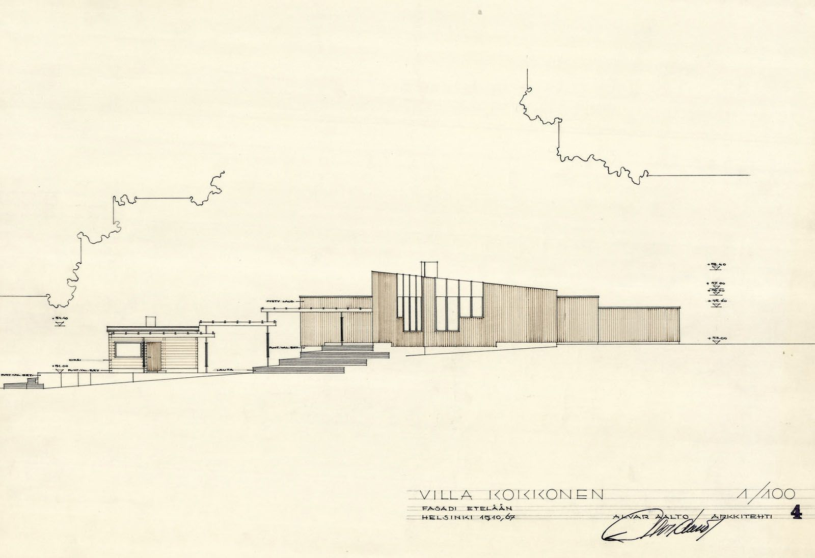 image result for alvar aalto house plans - Alvar Aalto House Plans