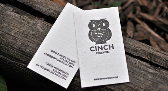 65 Minimalist Vertical Business Card Designs | Logos, Creative and ...