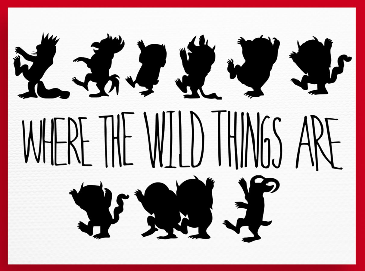 Where the Wild Things Are SVG, Where th | Design Bundles