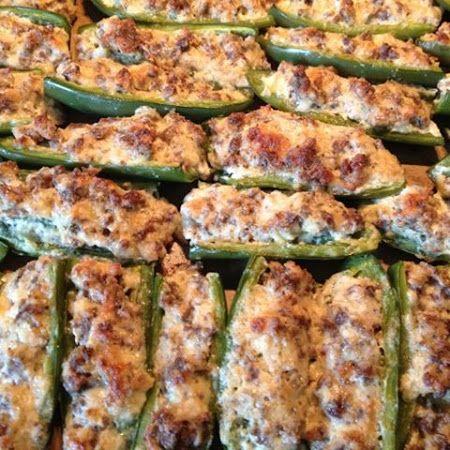 Stuffed Jalapenos Recipe Recipe Jalapeno Recipes Sausage Stuffed Jalapenos Recipes