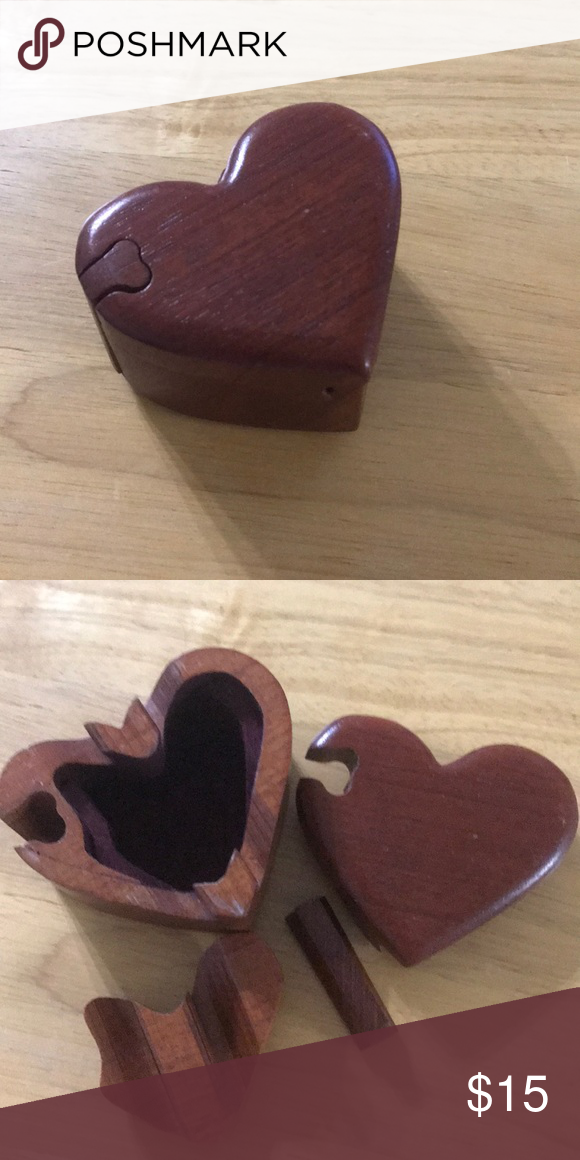 Heart Puzzle Box Wooden Heart Shaped Puzzle Box Would Be Great For A Proposal Other Puzzle Box Shape Puzzles Wooden Hearts