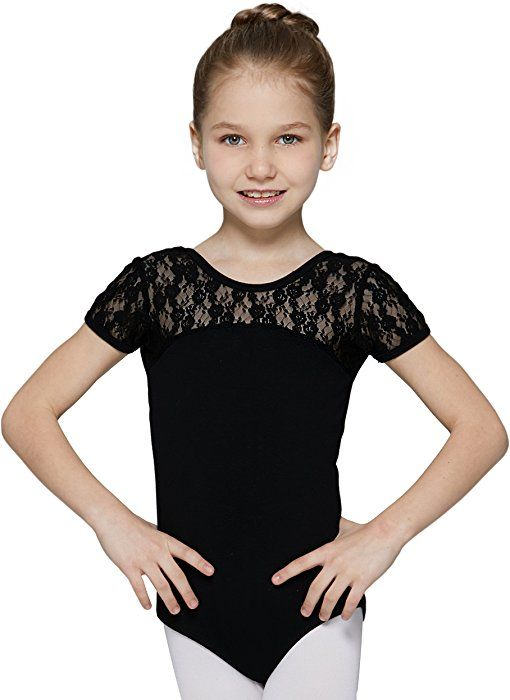 41227f1eb732 Amazon.com  MdnMd Dance Leotard for Little Girls with Bow Tie Back ...