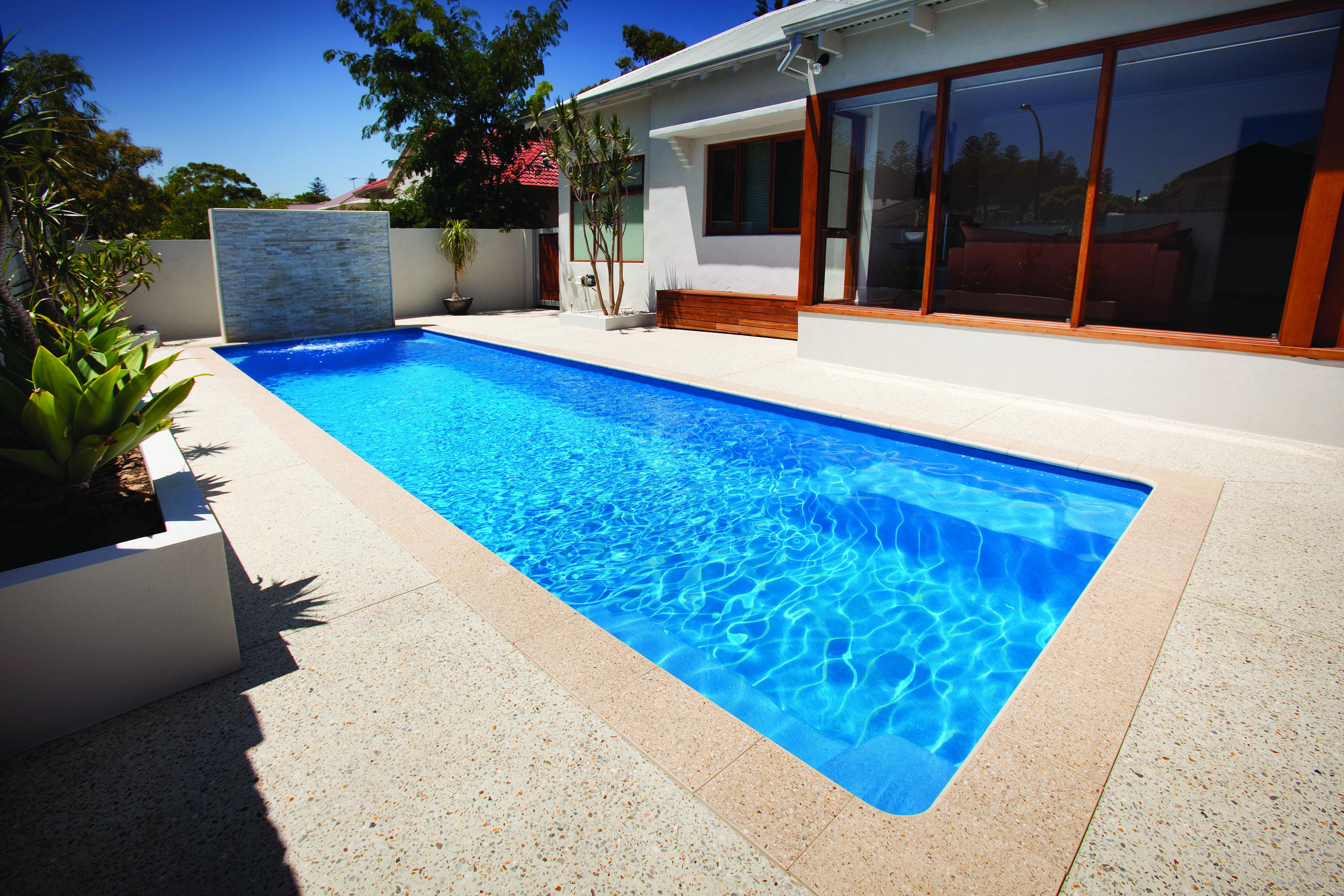 Milan Silver Spasa Wa Fibreglass Pools Swimming Pool Photos Endless Pool Spa Endless Pool