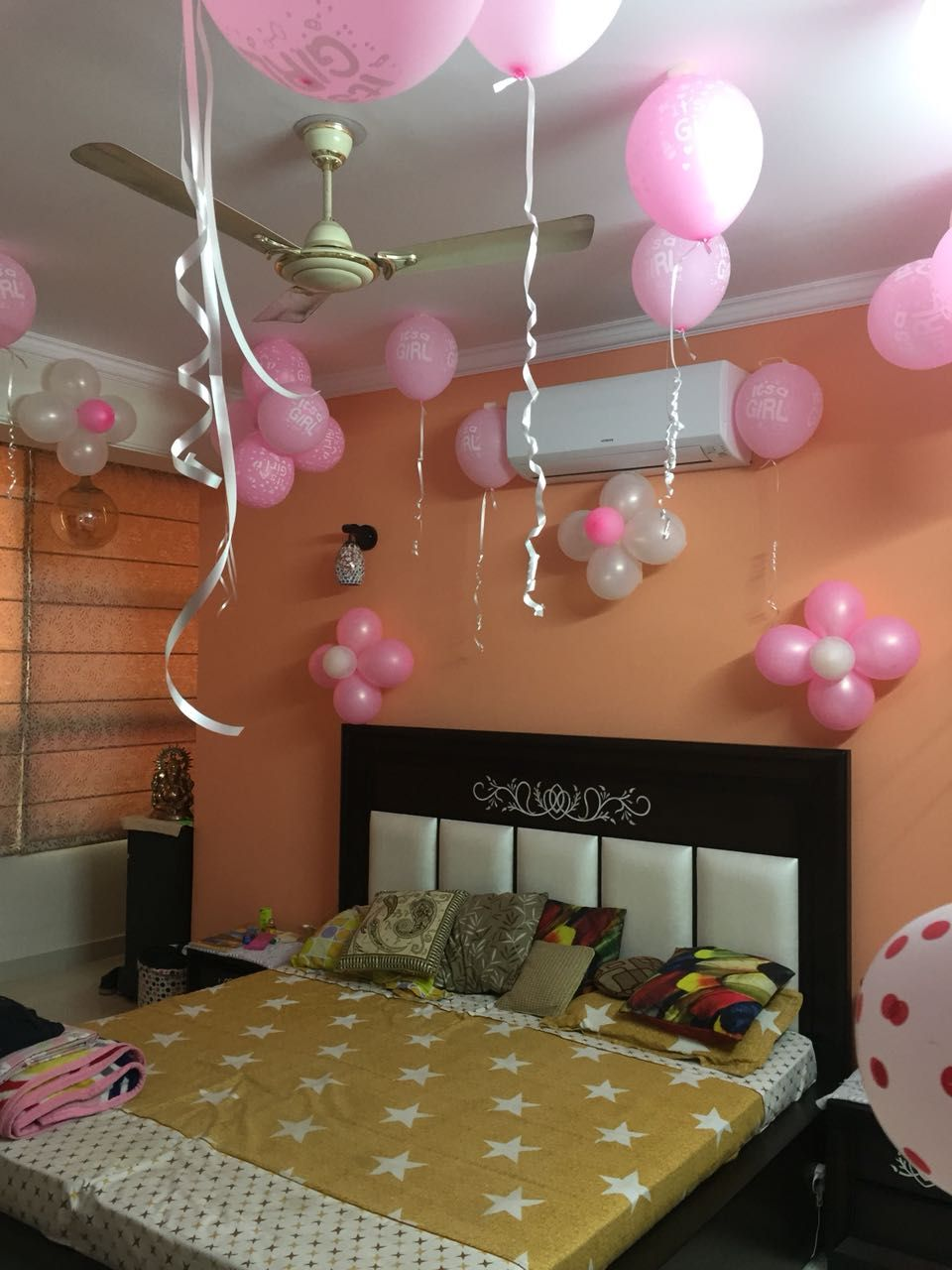 Beautiful Room Decoration For Baby Girl Welcome