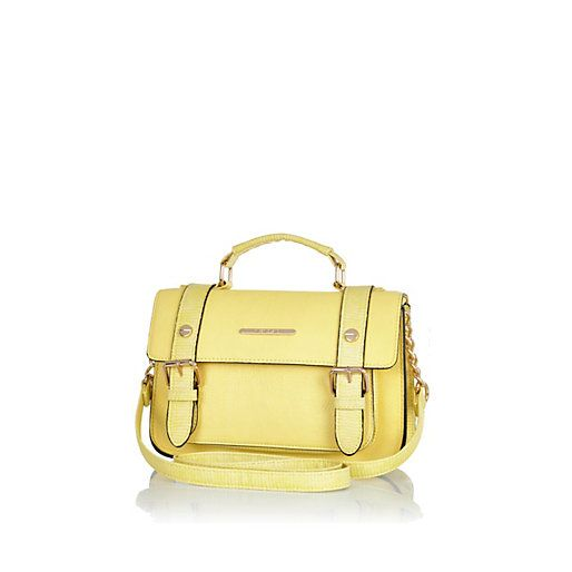 Yellow mini satchel #riverisland | Wish list | Pinterest | To be ...