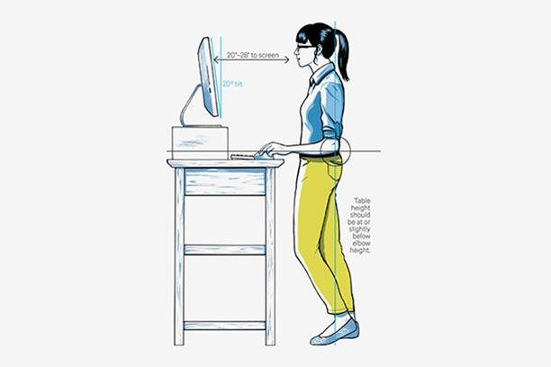 Wirecutter treadmill desk