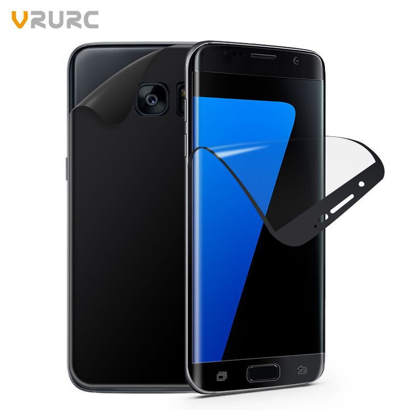 Vrurc Screen Protector For Samsung Galaxy S7 Edge 2Pcs Front