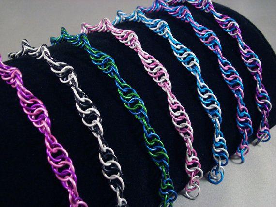Chainmail Spiral Bracelet