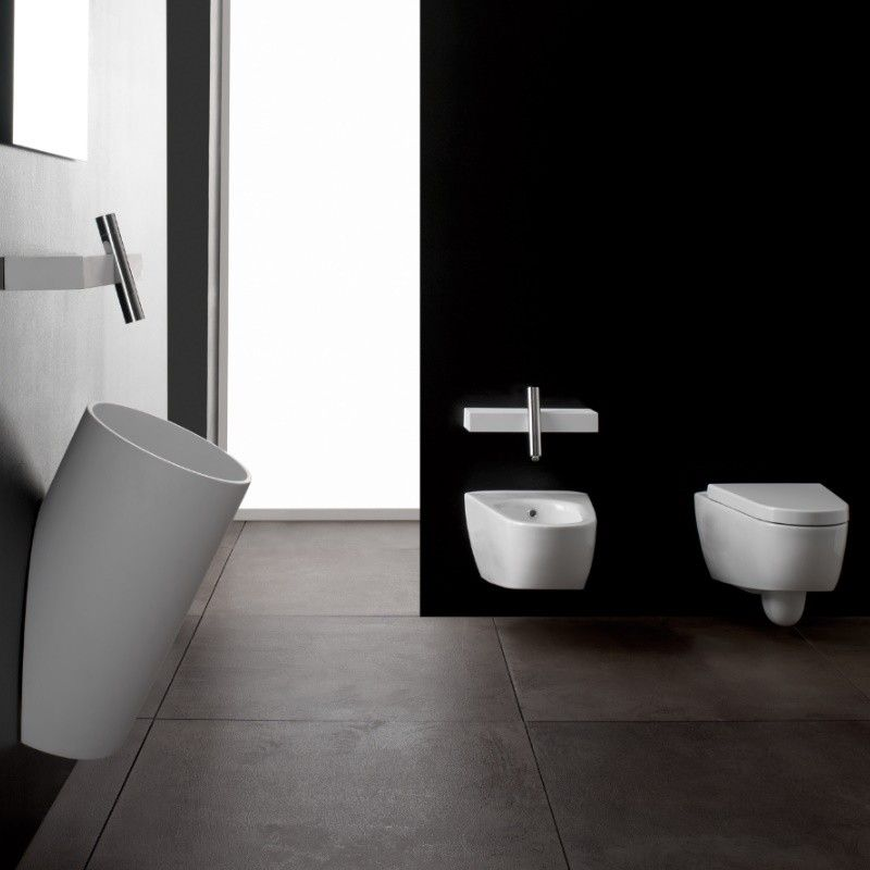 Treemme Wandhangendes Wc Serie Blok Mit Soft Close Wc Sitz