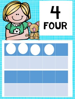 the BRAINY BUNCH - Number Line Banner, 0 to 10, Illustrated by Artrageous Fun