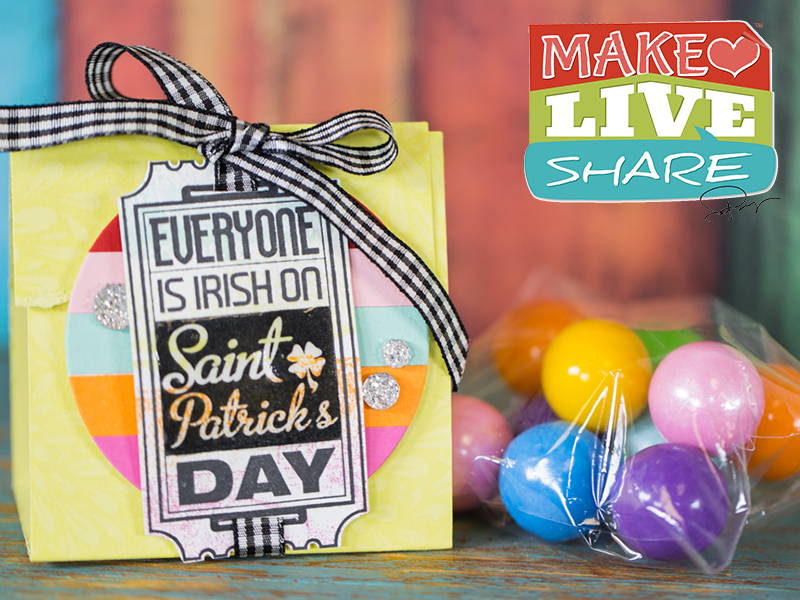 Make Live Share:  Rainbow Treat . . . Order products at www.funstampers.journey.com/beckyprusse