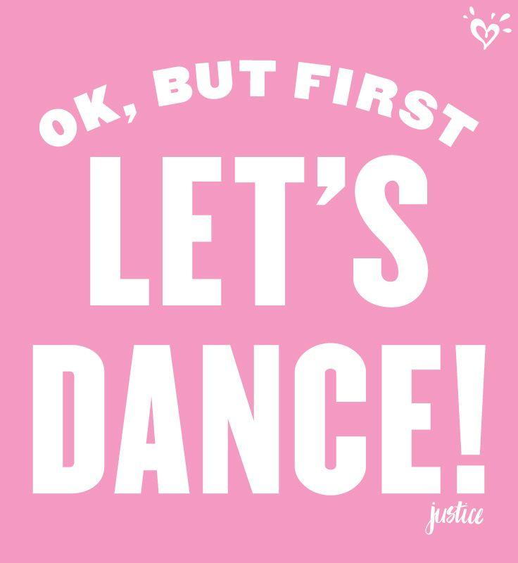 Dance now. Worry later. (Way, waaaay later.) Dance
