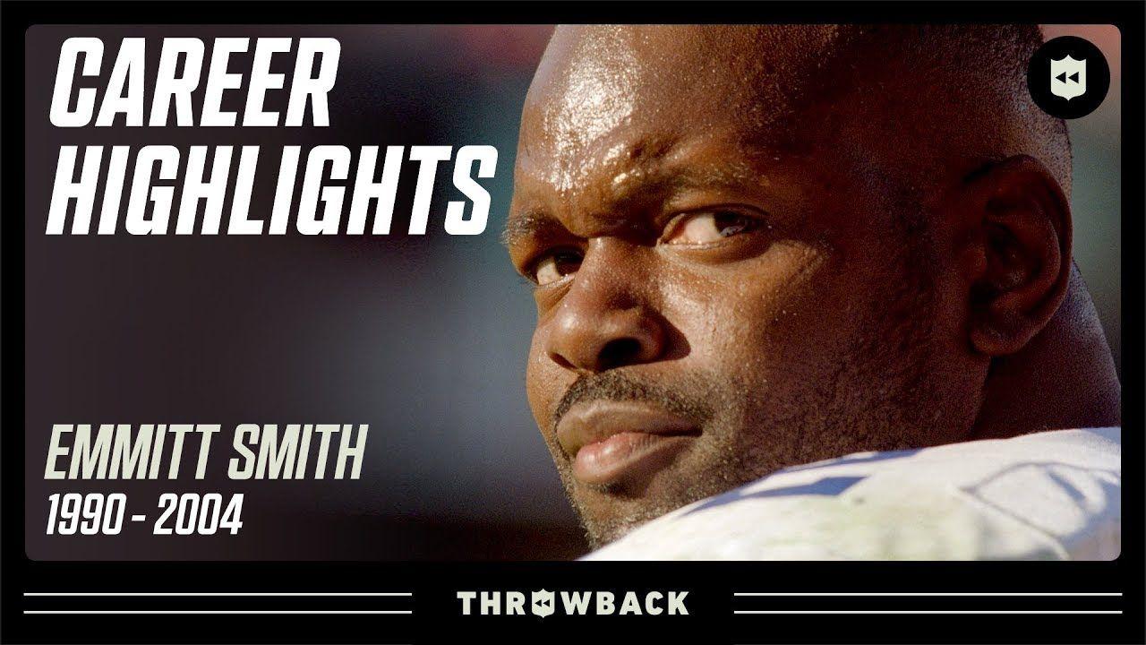 Emmitt Smith S Mr Consistent Career Highlights Nfl Legends Nfl Career Dallas Cowboys
