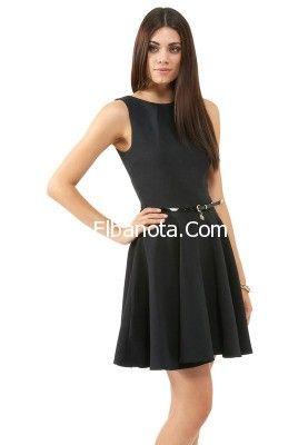 فساتين قصيرة 2014 موديلات فساتين خروج قصيرة فساتين كلاسيك قصيرة موضة بنوته أزياء بنوته بنوته كافيه Little Black Dress Dresses Fashion