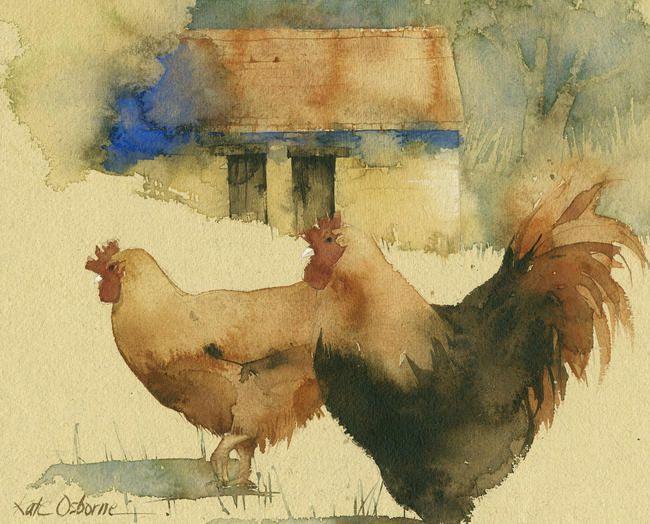French hens | Kate Osborne