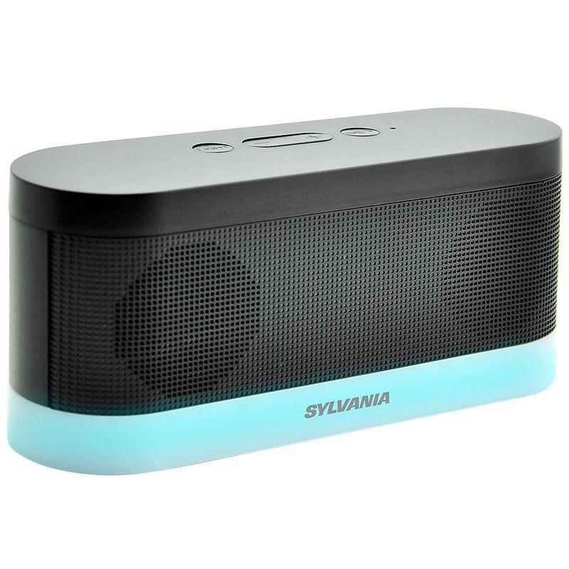 Sylvania Bluetooth Moonlight Speaker - Black - SP136